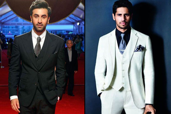 Three-piece suit for men
