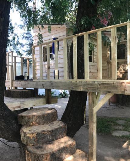 AbRam Khan's tree house