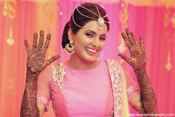 Geeta Basra Wedding Mehendi Design
