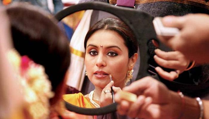 Image Courtesy: Rani Mukherji on the sets of Aiyya