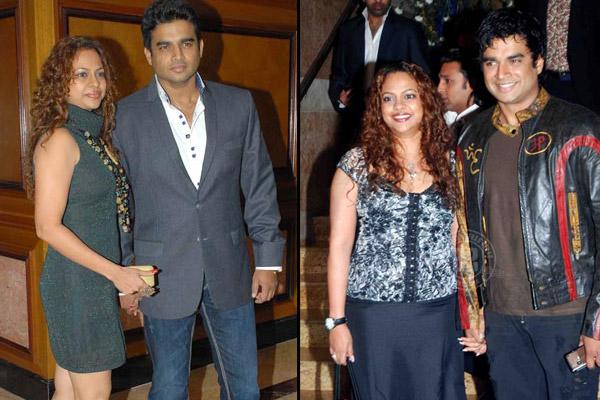 R Madhavan And Sarita Birje