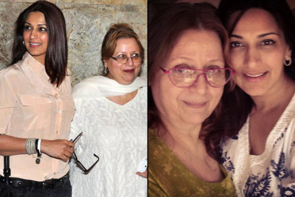 Sonali Bendre and Madhu Behl