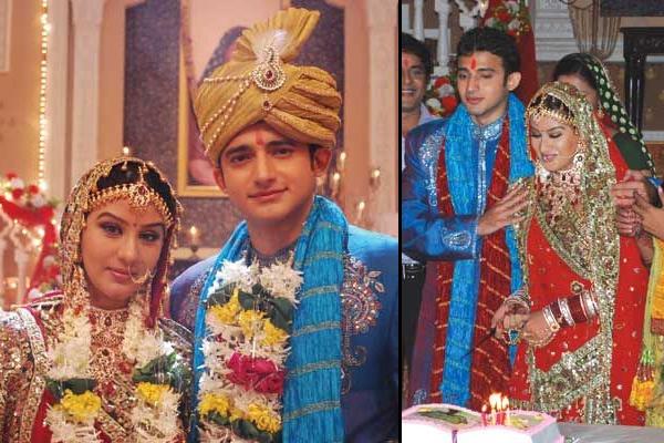 Shilpa Shinde and Romit Raj