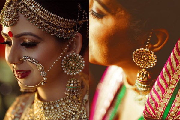 Bridal Earring Shots