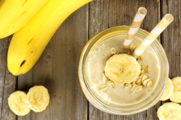 leftover banana for skin