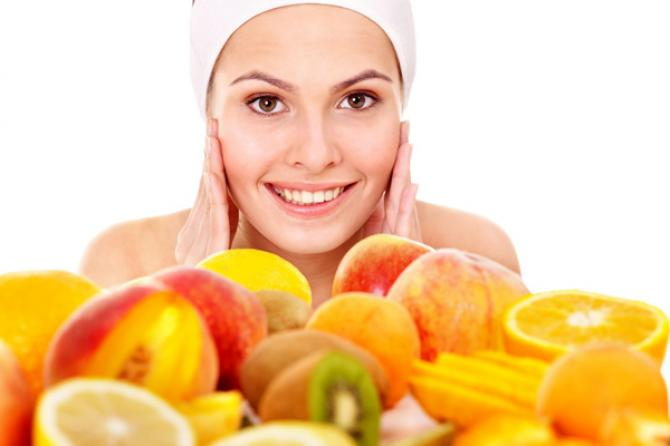 leftover fruits for skin