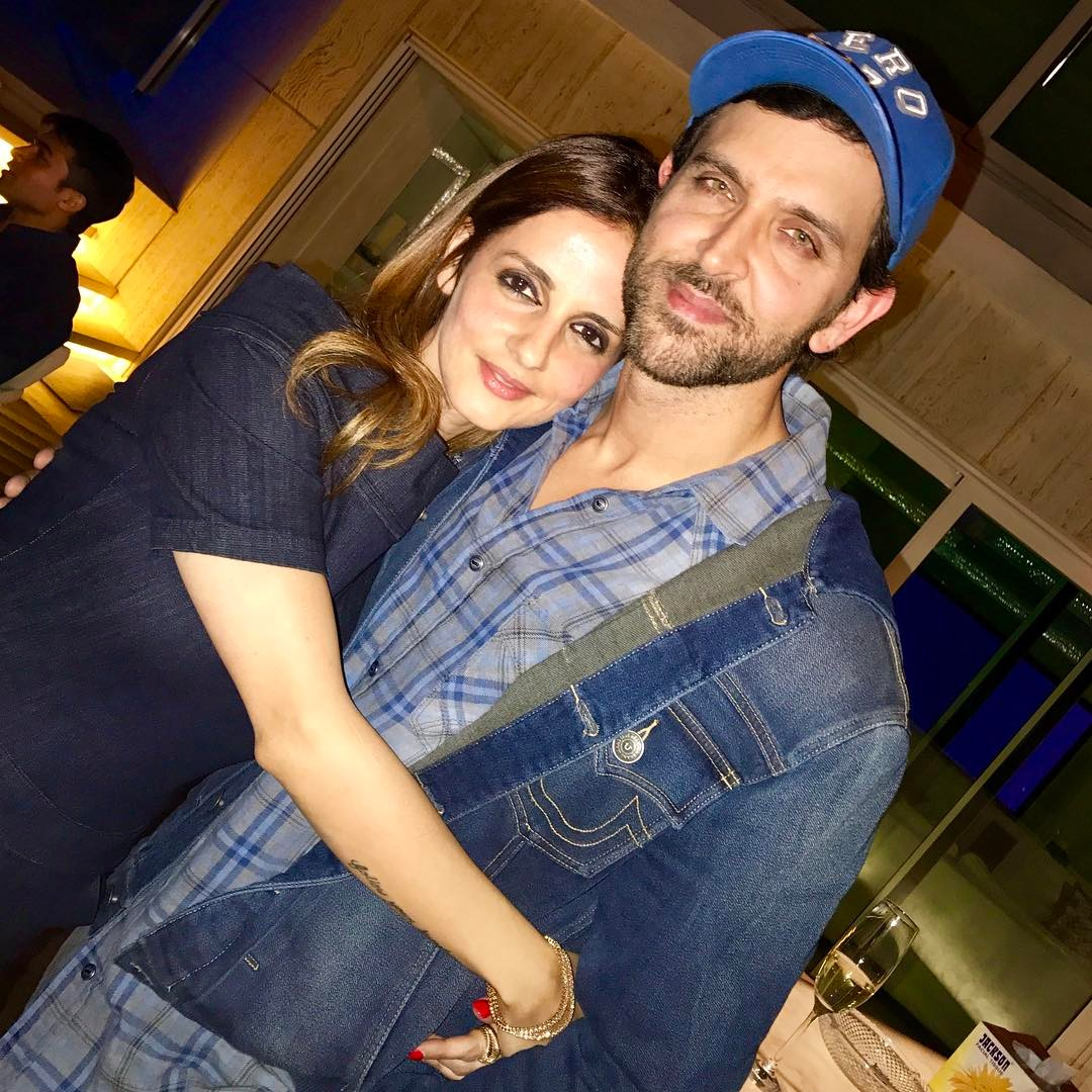 Hrithik Roshan and Sussane Khan / Instagram