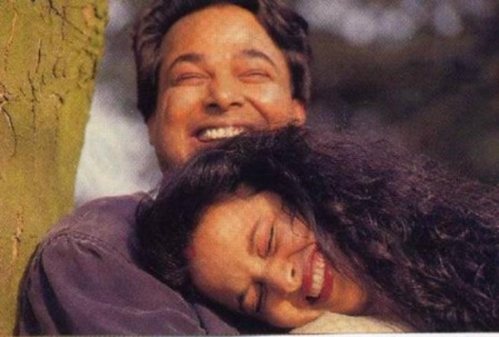 Rekha with husband Mukesh