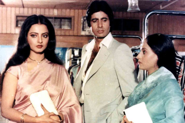 Silsila Amitabh Bachchan Jaya Baduri Rekha