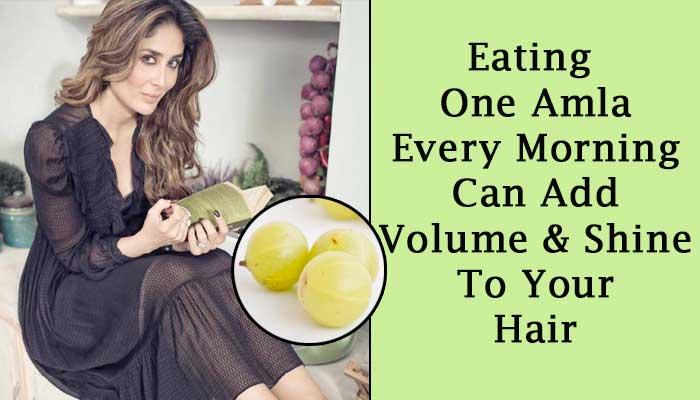 increase hair volume by amla