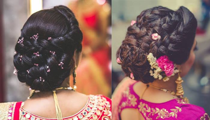 Hairstyles for Indian brides