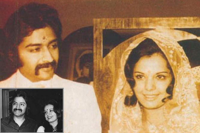 Mumtaz with husband