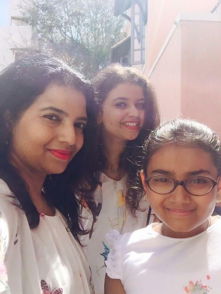 anil kumble daughters
