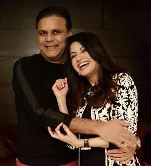 Bhagyashree with husband