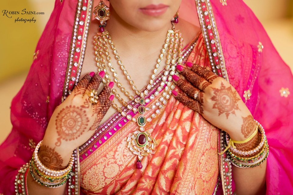 Back mehendi design Robin Saini Photography