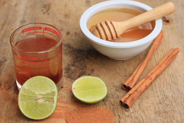 Cinnamon and honey water to lose weight