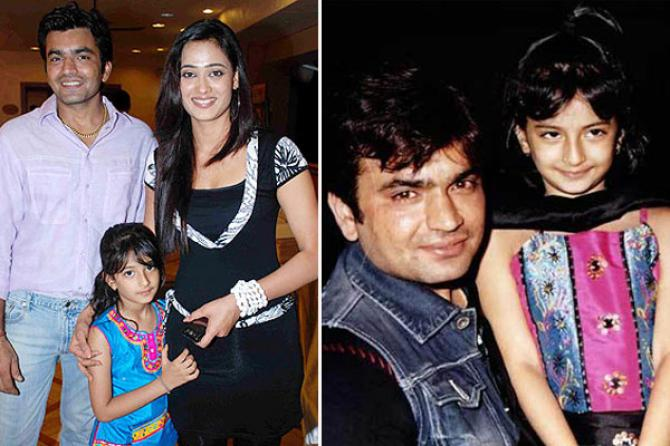 Shweta Towari and Raja Choudhary