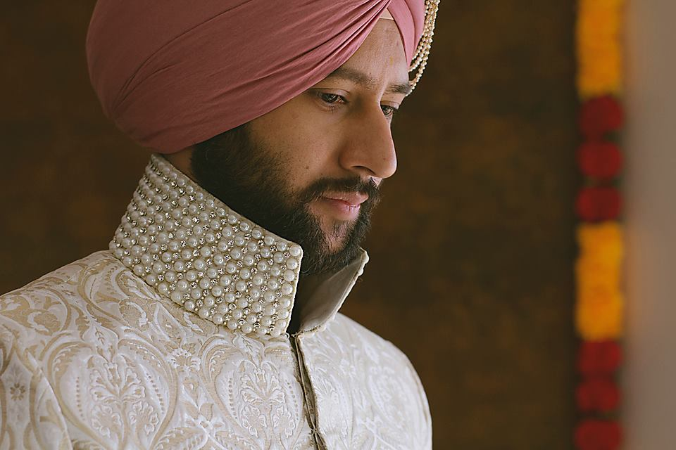 Sikh Grooms Wedding Pic