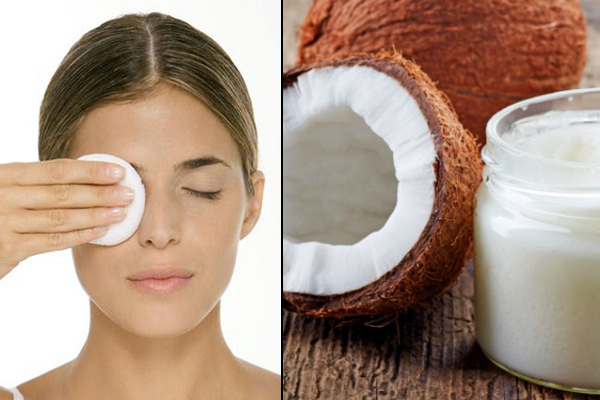 coconut oil as make-up remover