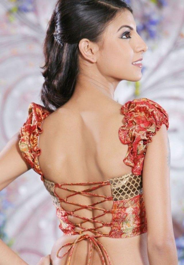 Dori Designs for blouse back