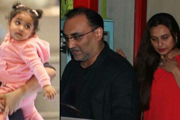 Rani Mukerji and Aditya Chopra daughter Adira