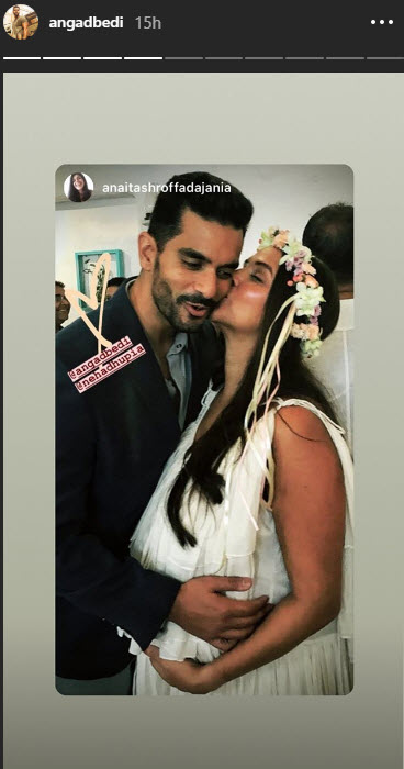 Inside Pictures From Neha Dhupia Baby Shower