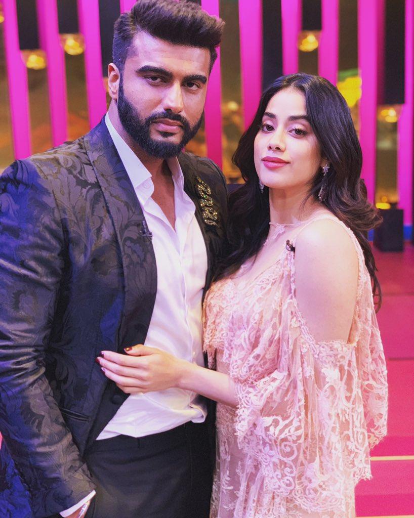 Arjun Kapoor and Janhvi Kapoor