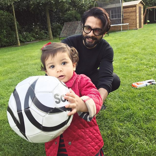 Shahid Kapoor and Misha Kapoor