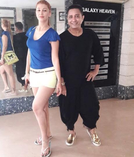 Sukhwinder Singh and Jasleen Matharu