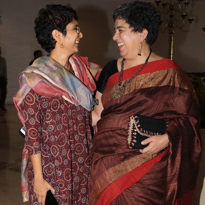Reena Dutta and Kiran Rao