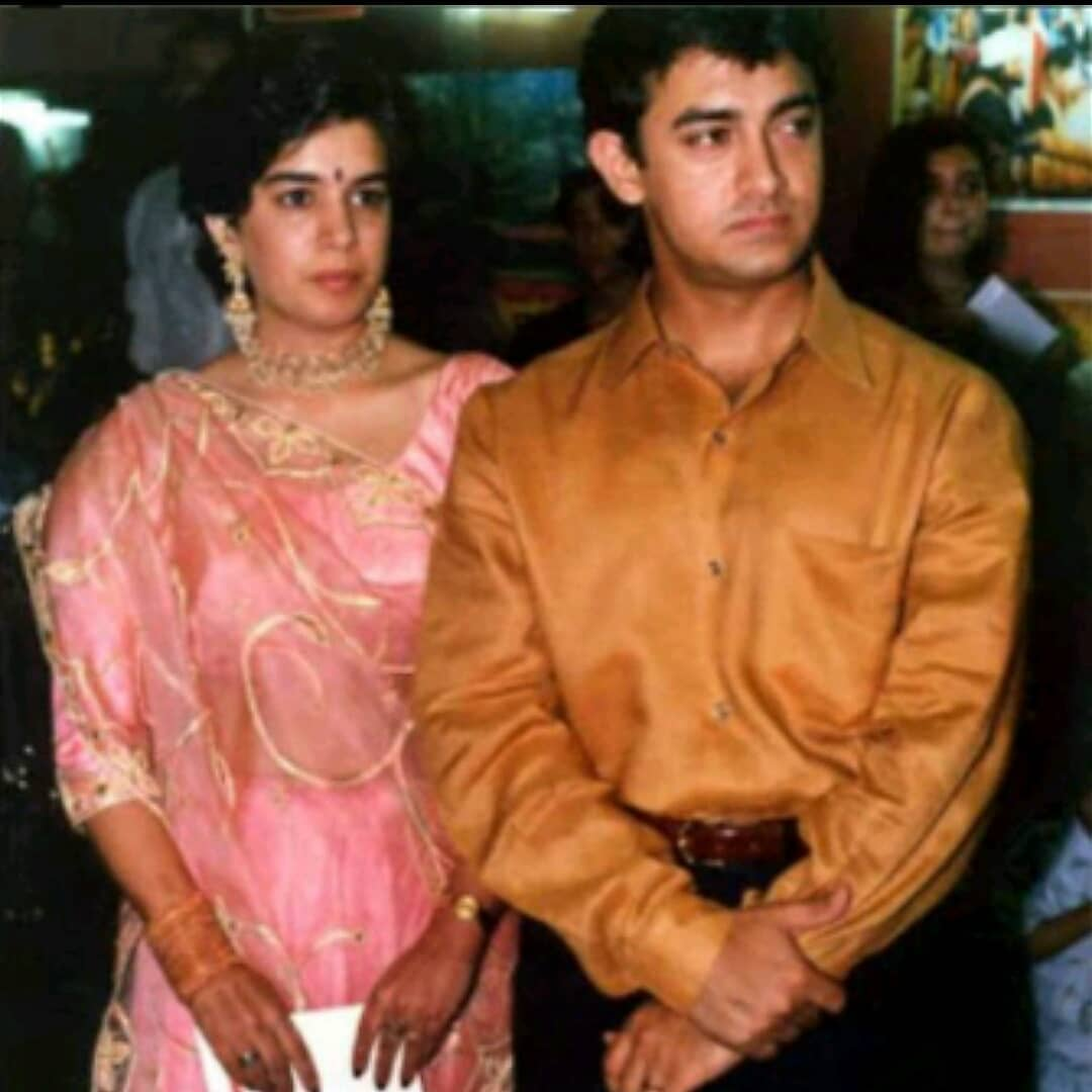Aamir Khan and Reena Dutta