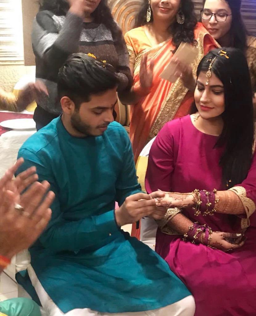 Subuhi Joshi And Comedian Sidharth Sagar