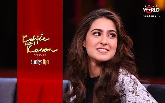 Sara Ali Khan on Koffee with Karan