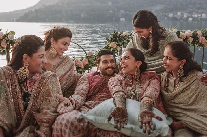 Ranveer Singh And Deepika Padukone Mehendi Pictures