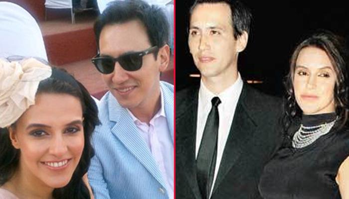 Neha Dhupia and James Sylvester
