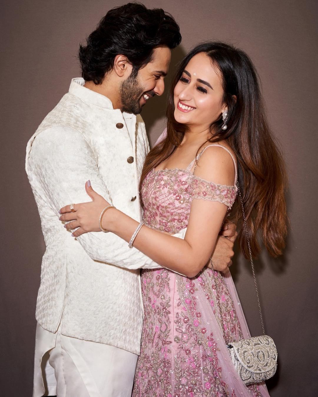 Varun Dhawan with girlfriend at Isha Ambani's wedding