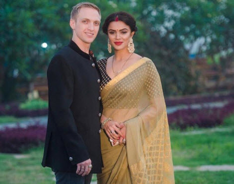 Aashka and Brent after marriage