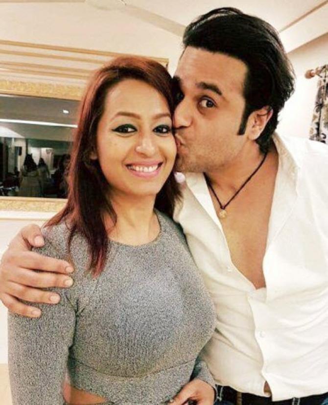 Krushna Kashmera Love Story