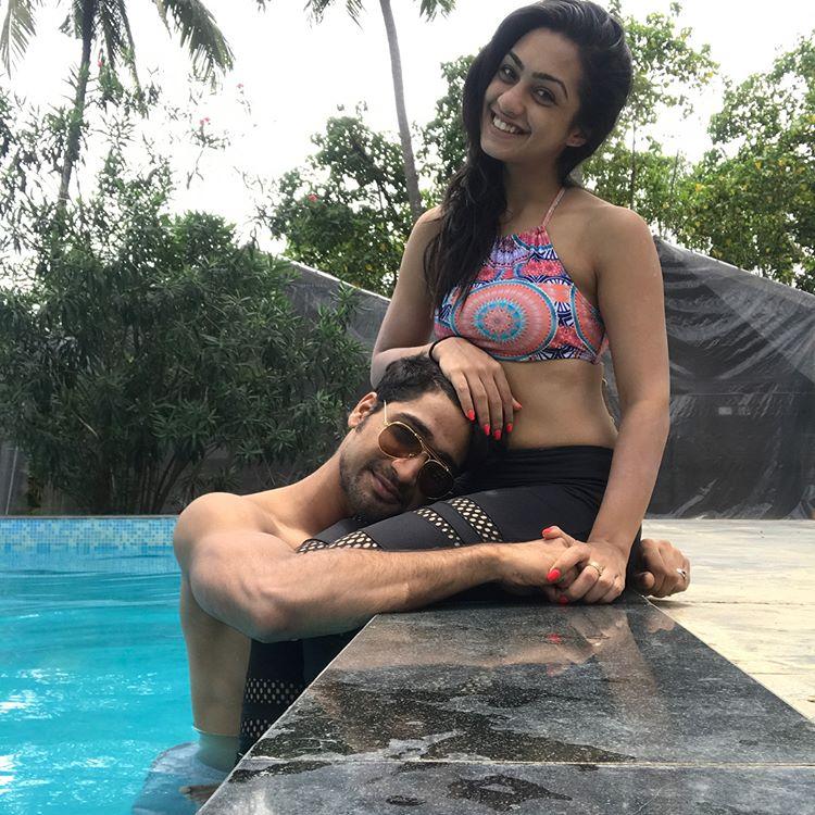 Sanam Johar and Abigail Pande