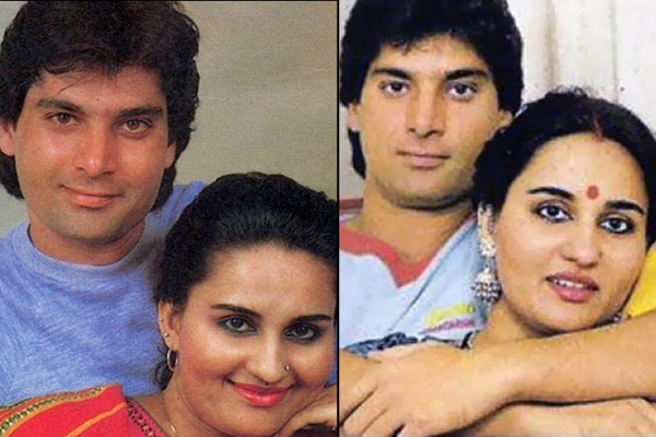 Reena Roy and Mohsin Khan