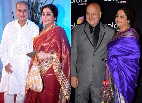 Anupam Kher and Kirron Kher