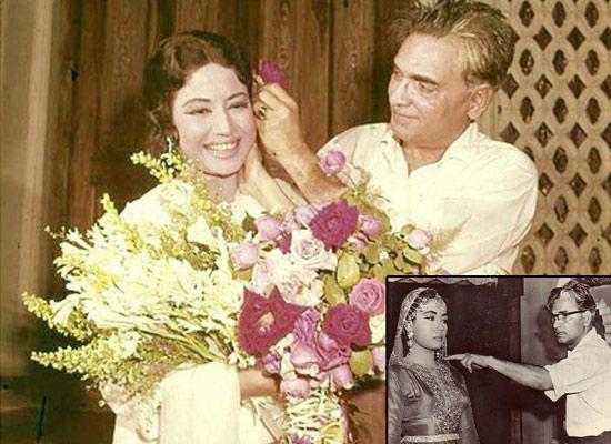 Meena Kumari and Kamal Amrohi