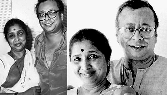 Asha Bhosle and RD Burman