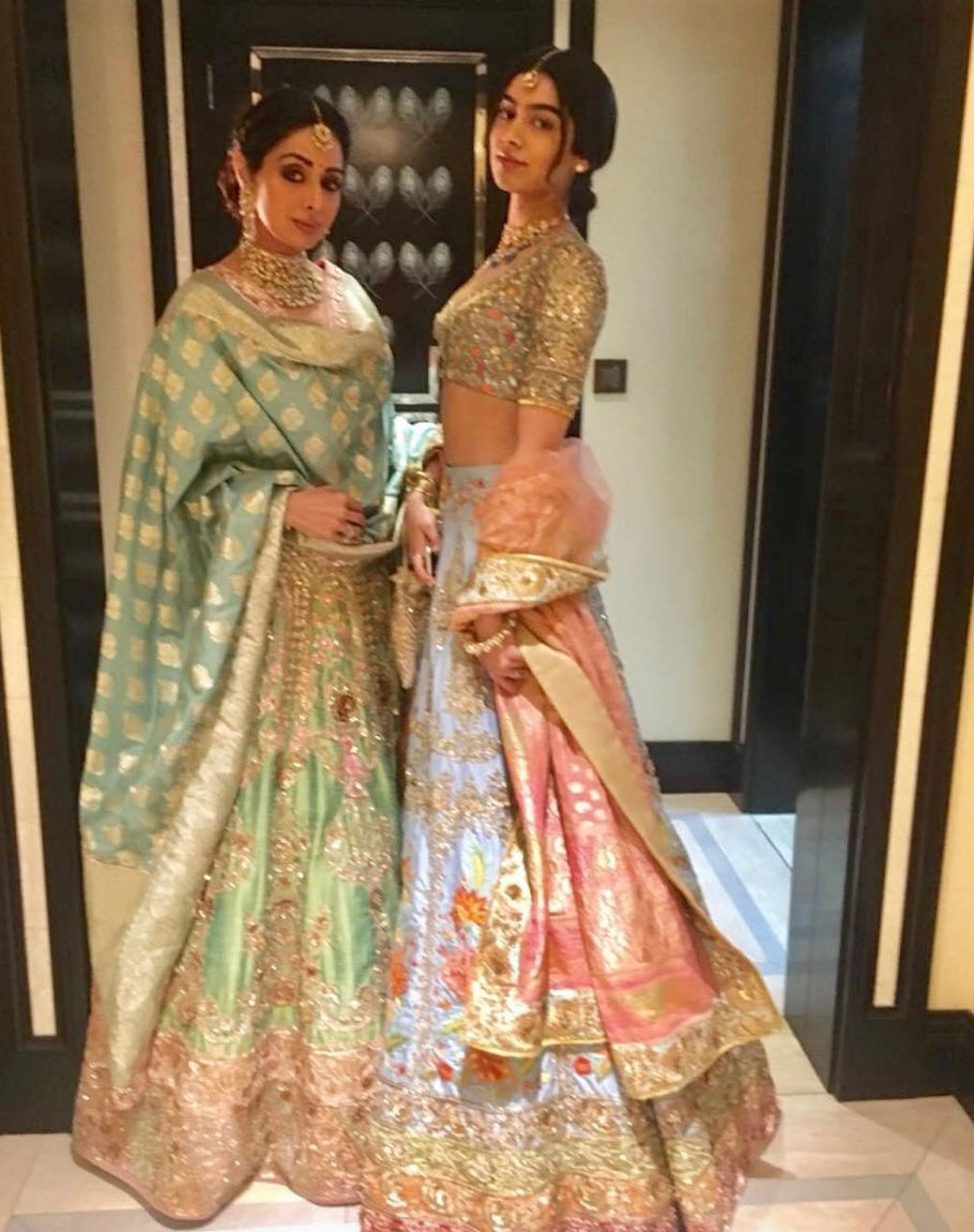 Sridevi last pictures at Mohit Marwah wedding