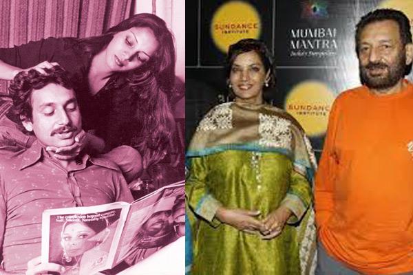 Shekhar Kapoor and Shabana Azmi
