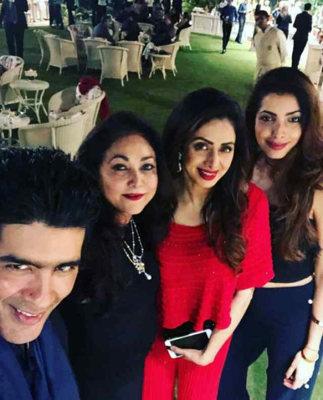 Sridevi at Tina Ambani's Birthday
