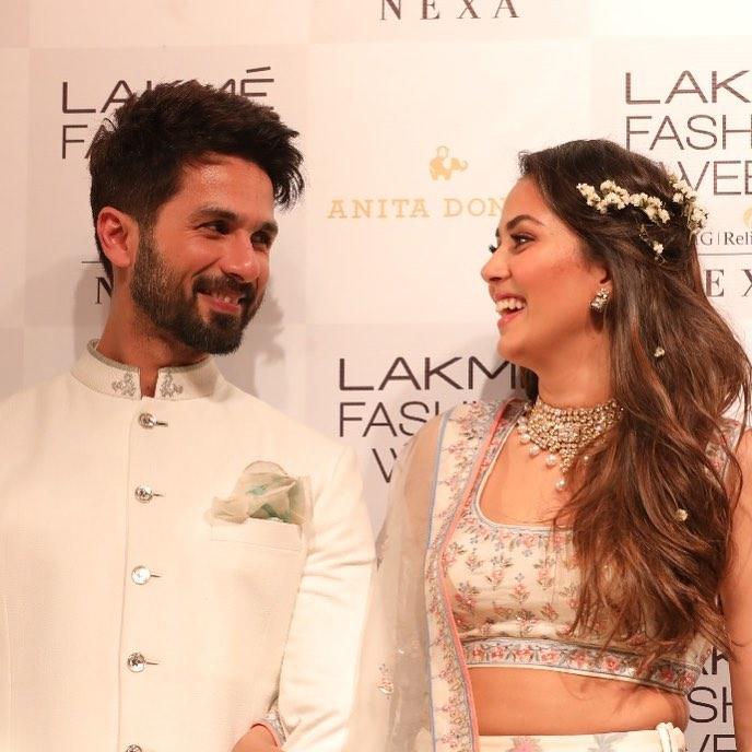 Shahid Kapoor and Mira Kapoor