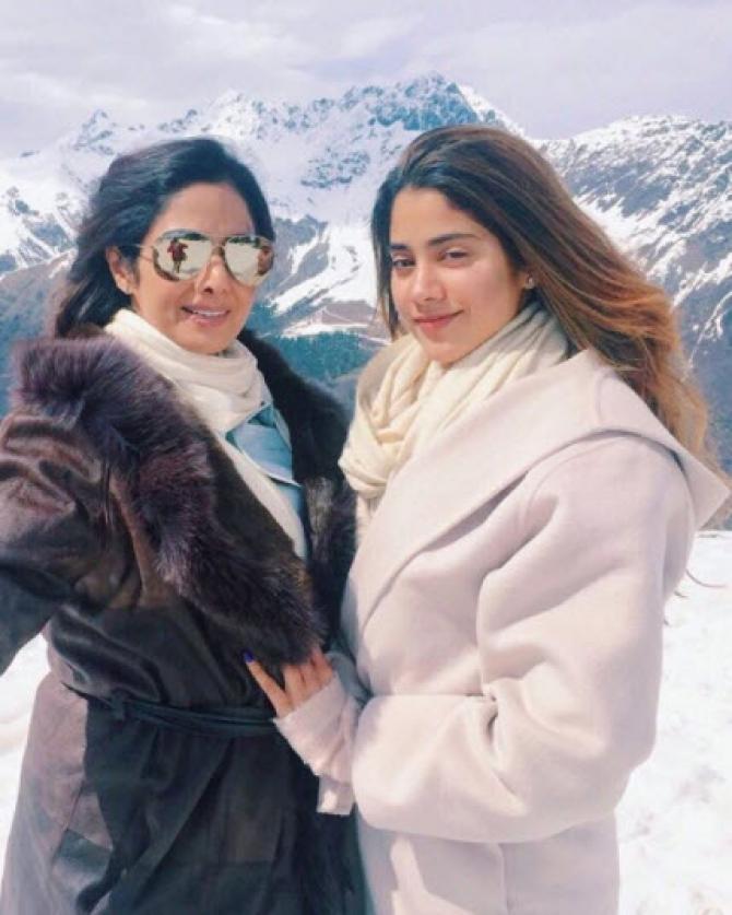 Janhvi And Sridevi