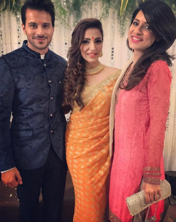 Television Actresses Engagement Looks