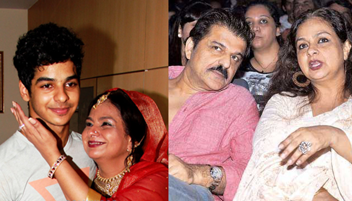 Ishaan Khatter, Neelima Azeem and Rajesh Khatter